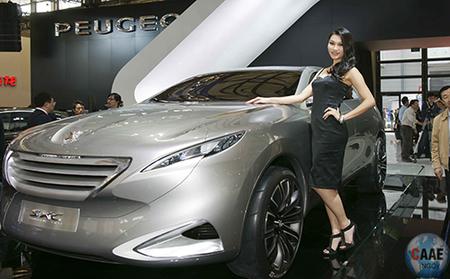 2011年上海国际车展现场